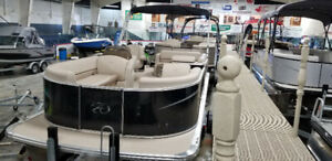 Amazing Avalon Pontoon boat with trailer and motor