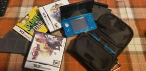 Blue 3DS + extras