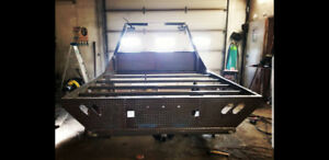 8'x8' flatbed for pickup truck
