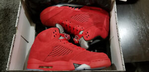 DS Jordan Red Suede Size 10.5