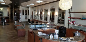 HAIR SALON FOR RENT - SALON COIFFURE À LOUER - FULLY EQUIPPED