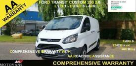 2018 Ford Transit Custom 2.0 290 L1 H1, 1 OWNER, FSH , 40K, EU 6 - 1 OWNER, FSH,