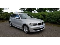 BMW 1 SERIES 118i ES Fully Serviced + Fully Warranted With AA Cover (silver) 2007