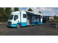 DAF LF45.220 Coach Built Box Van Motorhome / Exhibition Unit