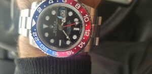 ROLEX  GMT  MASTER  (PEPSI )  REFERENCE: 126710BLRO -NEW MODEL-