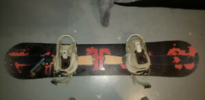 Technine board with bindings (great condition)
