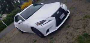 2015 Lexus IS250 F SPORT  63000 KMS ONLY!!! FOR SALE