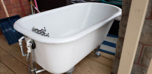Cast Iron Clawfoot Tub - Great Condition!
