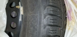 Winter Snow Tires with Steel Rims/Wheels - Michelin X-Ice
