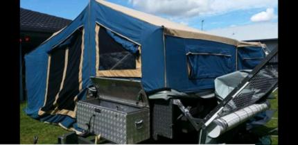 2009 bluetongue offroad camper Sarina Mackay Surrounds Preview