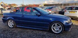 BMW 3 SERIES 318Ci Sport (blue) 2004