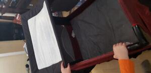 Parc, poussette et chaise haute evenflo