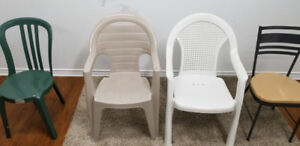 Variety of Plastic Chairs for Sale (Large quantities)(New)