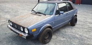 1989 VW Cabriolet