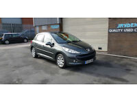 2009 09 PEUGEOT 207 1.4HDI 94,500 MILES WARRANTED