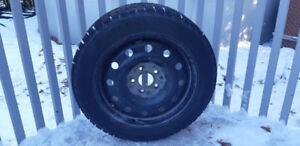Pneus d'hiver Bridgestone Blizzak 205/55R16 + Jantes