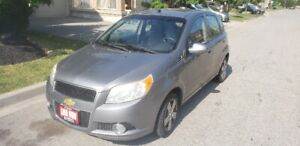 CERTIFIED 2009 Chev Aveo Loaded only 140kms