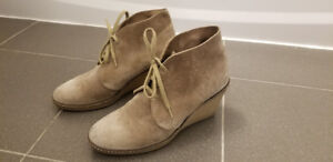 J. Crew MacAlister Suede Wedge Boots