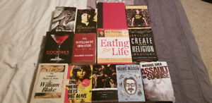 Various Books. Some Practically New. Some Used But In Good Shape