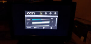 "Coby 19"" LCD TV - Works Great - Includes Remote"