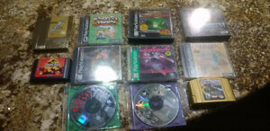 Playstation 1 games plus other