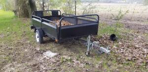 Utility trailer 4.5x8ft atv trailer