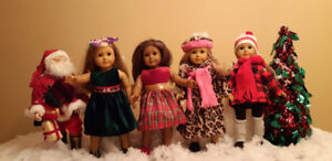 "AMERICAN GIRL DOLL CLOTHES FITS 18"" DOLLS"