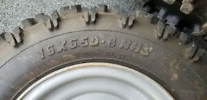 Large Wheels/Tires for Snowblower or?