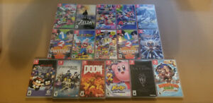 16 Switch Games Zelda Doom Skyrim Splatoon 2 Mario etc