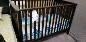 Baby Crib + Crib Mattress for Sale