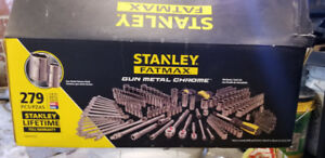 Stanley FatMax Gunmetal Chrome 279 Piece Mechanics Set. $275 OBO