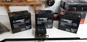 Batteries et contrôleur de quadriporteur , triporteur