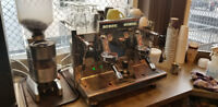 Commercial EMC Espresso Machine