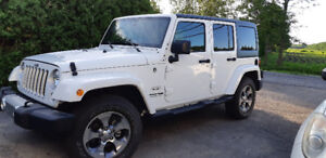 Jeep wrangler unlimited 2018 comme NEUF