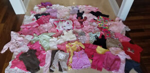 Girls Lot of Clothes size 0 - 6 months