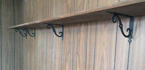 13' Solid Wood Shelving System
