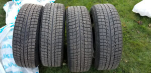 Michelin X-ice Winter Tires with 16 Inch Rims