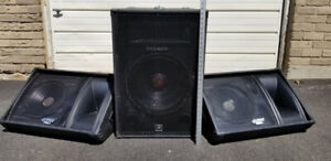 PA Speakers - Pyle Pro Monitor Speakers and Power Pro Audio PPA5