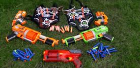 Nerf gun bundle with bullets