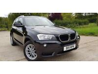 2011 BMW X3 2.0d 184bhp Auto xDrive 5dr 1 Owner Low Mileage Full Service History