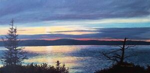 ONE on ONE PAINTING LESSONS - painting with acrylic St. John's Newfoundland image 3