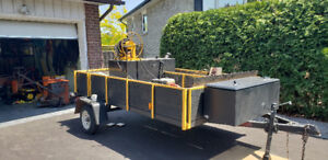 Driveway sealing unit & trailer $2500 or best offer