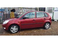 Ford Fiesta 1.4i 16v Ghia (red) 2002