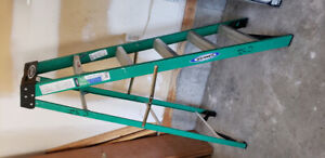 LADDERS OF VARIOUS SIZES. WERNER and FEATHERLITE