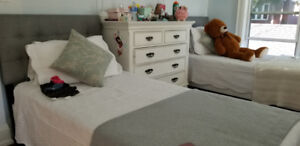 Twin Beds (Two almost new)