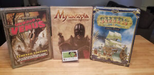 Mythotopia, Onward to Venus et Ships (Board games)