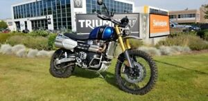 "2019 Triumph SCRAMBLER 1200 XE ""SHOWCASE"" DEMO"