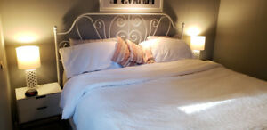 Gorgeous KING SIZE Bed (mattress and sheets NOT included)