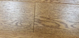 "Engineered Hardwood floor for sale  5/8"" *5"". White oak"