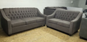 Brand New -Tufted Sofa + Loveseat for only $1100 WE CAN DELIVER